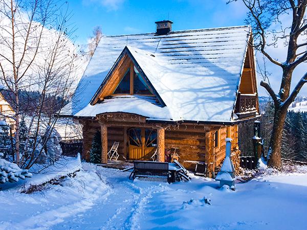 Ogromnie Sylwester 2019 w domku w górach - Ząb, Nowe Bystre w pobliżu CP91